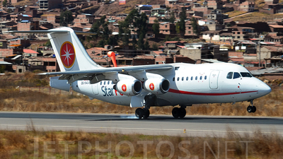 OB-1943-P - British Aerospace BAe 146-200 - Star Perú