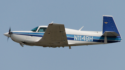 A picture of N1149H - Mooney M20K - [250607] - © Westley Bencon