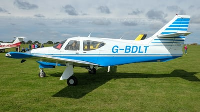 G-BDLT - Rockwell Commander 112 - Private