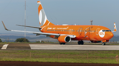 A picture of PRGTM - Boeing 7378EH - GOL Linhas Aereas - © Matheus Lima