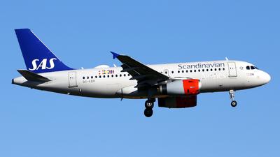 A picture of OYKBR - Airbus A319131 - SAS - © Javier Rodriguez - Amics de Son Sant Joan