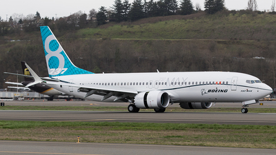 N8702L - Boeing 737-8 MAX - Boeing Company