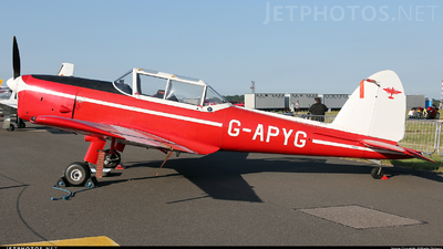 A picture of GAPYG - De Havilland Canada DHC1 Chipmunk - [C1/0060] - © Martin Robson