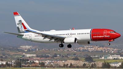 A picture of EIFVK - Boeing 7378JP - [42276] - © Peter Kesternich