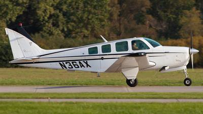 N36AX - Beechcraft A36 Bonanza - Private