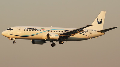 EP-APO - Boeing 737-4H6 - Iran Aseman Airlines