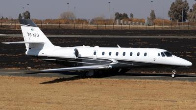 ZS-KFS - Cessna 680 Citation Sovereign Plus - Private