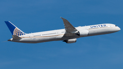 A picture of N16008 - Boeing 78710 Dreamliner - United Airlines - © Michael E.