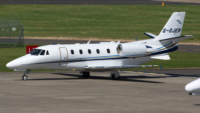 G-OJER - Cessna 560XL Citation Excel - Private
