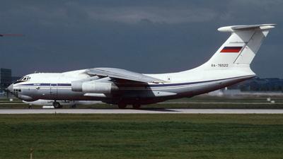 RA-76522 - Ilyushin IL-76T - Inversija