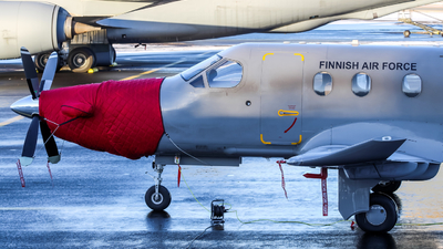 PI-04 - Pilatus PC-12/47E - Finland - Air Force