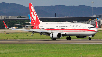 B-1278 - Boeing 737-89P - China United Airlines