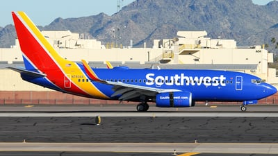 N7834A - Boeing 737-752 - Southwest Airlines