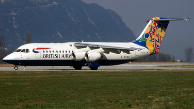 G-BZAU - British Aerospace Avro RJ100 - Cityflyer Express