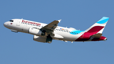D-AGWF - Airbus A319-132 - Eurowings