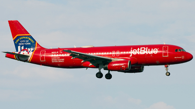 A picture of N615JB - Airbus A320232 - JetBlue Airways - © Gautham Kurup