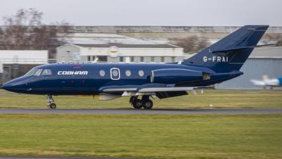 A picture of GFRAI - Dassault Falcon 20 - Cobham Aviation Services - © malachyplanespotting