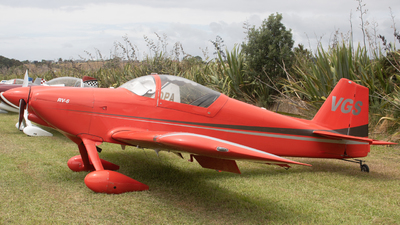 ZK-VGS - Vans RV-6 - Private