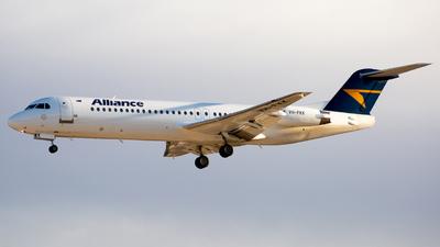 VH-FKK - Fokker 100 - Alliance Airlines