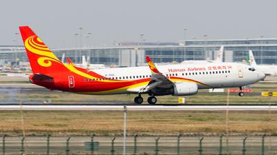 B-1542 - Boeing 737-84P - Hainan Airlines