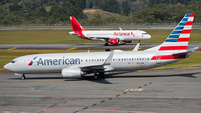 A picture of N801NN - Boeing 737823 - American Airlines - © Esteban Cristancho