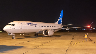 HP-9908CMP - Boeing 737-9 MAX - Copa Airlines