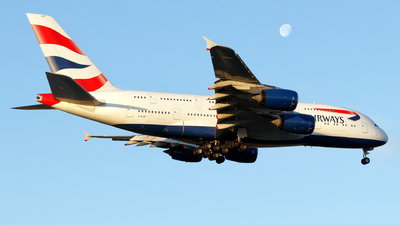 G-XLEF - Airbus A380-841 - British Airways