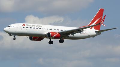 VQ-BGN - Boeing 737-8K5 - Royal Flight