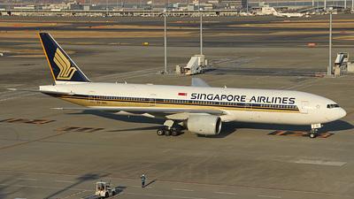 9V-SQL - Boeing 777-212(ER) - Singapore Airlines