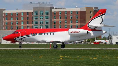 N503DJ - Dassault Falcon 2000 - Dumont Aviation
