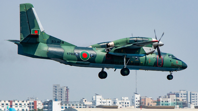 1702 - Antonov An-32A - Bangladesh - Air Force