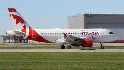 C-GITP - Airbus A319-112 - Air Canada Rouge