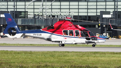 PH-EUB - Eurocopter EC 155B1 Dauphin - Heli Holland