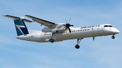 A picture of CGWEO - De Havilland Canada Dash 8400 - WestJet - © Kevin Leinweber
