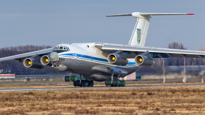 76699 - Ilyushin IL-76MD - Ukraine - Air Force