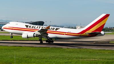 A picture of N715CK - Boeing 7474B5F - Kalitta Air - © KirkXWB