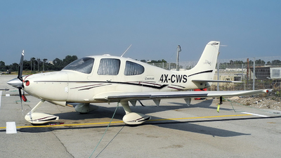 4X-CWS - Cirrus SR22 - Private