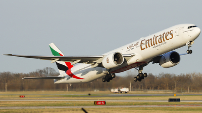 A picture of A6EBM - Boeing 77731H(ER) - Emirates - © Nick Neiger