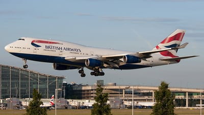 G-BNLV - Boeing 747-436 - British Airways