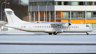 SE-MDC - ATR 72-212A(500) - Danish Air Transport (DAT)