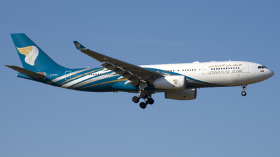 A4O-DG - Airbus A330-243 - Oman Air