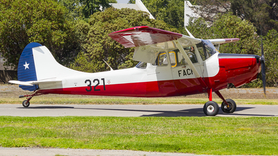321 - Cessna O-1 Bird Dog - Chile - Air Force