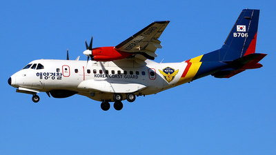 B706 - IPTN CN-235-220 - South Korea - Coast Guard