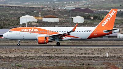 A picture of HBJXL - Airbus A320214 - easyJet - © Román A. Pérez