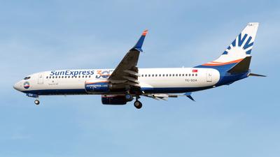 A picture of TCSOA - Boeing 7378HC - SunExpress - © Sebastian Thiel
