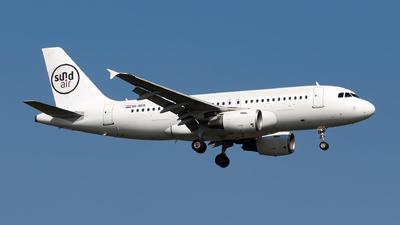 A picture of 9ABER - Airbus A319112 - Sundair - © Julian Azeroth