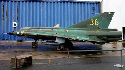 35069 - Saab J-35A Draken - Sweden - Air Force