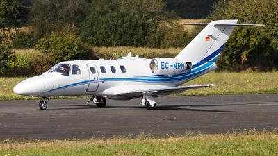 EC-MPN - Cessna 525 Citationjet CJ1 - Private