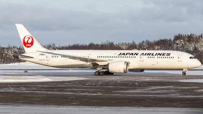 A picture of JA862J - Boeing 7879 Dreamliner - Japan Airlines - © Roope Nikkinen