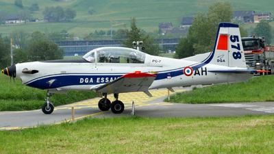 578 - Pilatus PC-7 - France - Direction Generale de l'Aviation Civile
